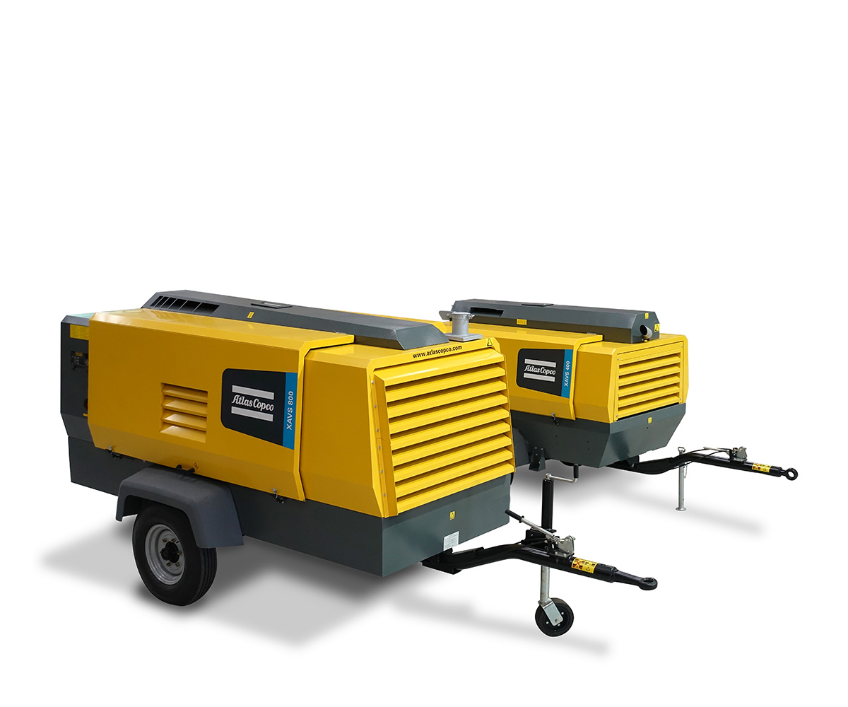Atlas Copco Compresores de aire transportable