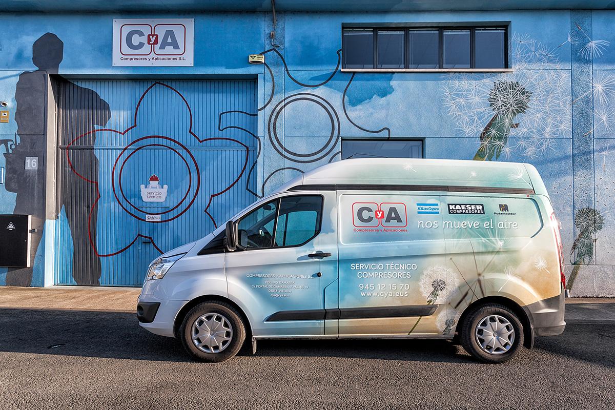 CyA compresores y apliaciones Vitoria